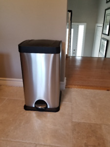 Stainless Trash Bin for the Kitchen