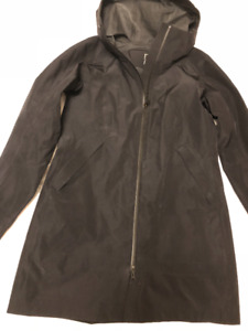 M0851 Black Waterproof Softshell with Flap Pockets XS