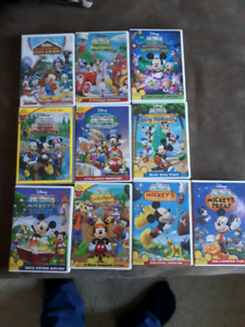 Mickey mouse club house dvd lot