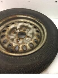 triumph spitfire wheels and x3 tyres