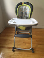 High Chair : Ingenuity Trio 3-in-1 Deluxe High Chair - Marlo