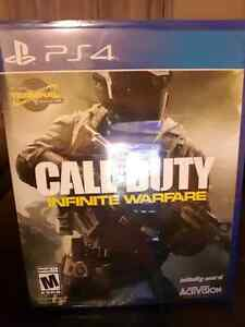 Call of Duty Infinite Brand New Sealed (ps4)
