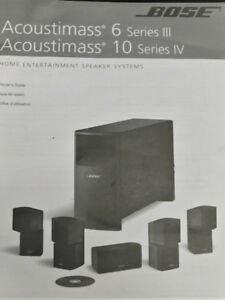 Bose speakers systems