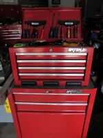 TOOLBOX/CHEST WITH TOOLS