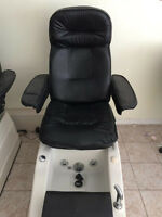 Used nail salon furniture pedicure chair.