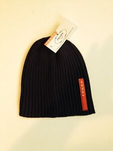 Prada and Moncler toques. Men's and Women's