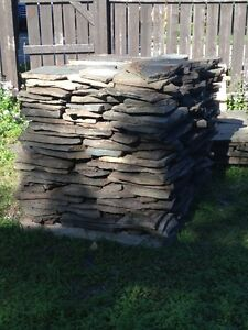 Quarried Flagstone for sale  550 square feet