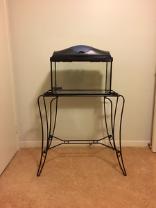 10 gal Fish Tank with Stand