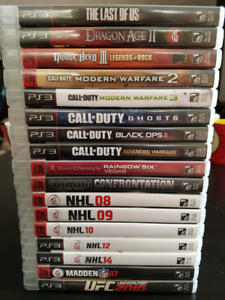 17 ps3 games