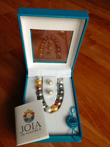 Authentic Joia De Majorca Pearl Necklace Earring Set Gatineau Ottawa / Gatineau Area image 1
