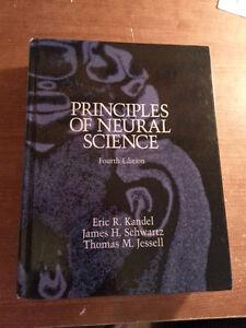Livre Book Principles of Neural Sciences de Kandel