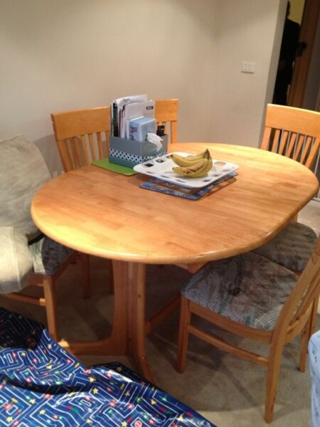 Dining table used chairs sale melbourne