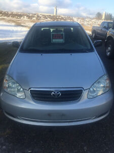 2005 Toyota Corolla Sport Sedan - Certified and Emission tested