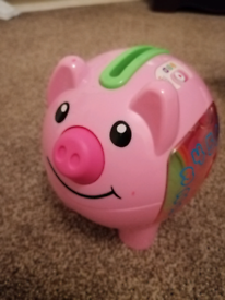 Fisher price counting piggy bank
