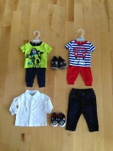 Baby boys lot size 0-3 months