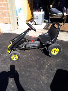 Almost new pedal car for kids
