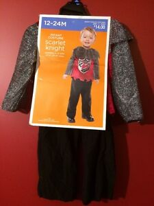 Scarlet Knight Infant Costume - Size 12-24M - Brand new!