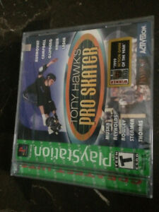 Unopened Tony Hawks Pro Skater PS1