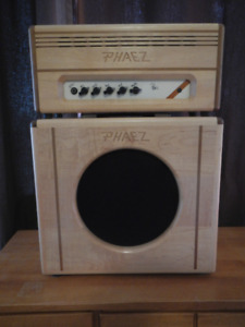 Phaez 20 watt tube amp and 1 x 12 cabinet (Celestion G12M)