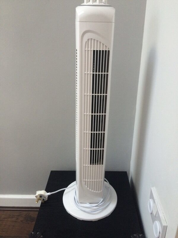 argos oscillating tower fan x 2 15 each in sheffield. Black Bedroom Furniture Sets. Home Design Ideas
