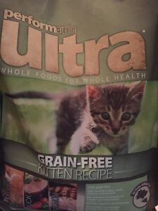 Performatin ultra grain free kitten recipe kibble