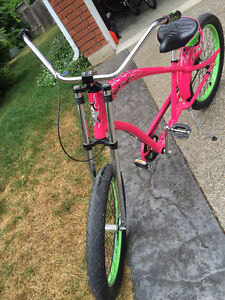 THIS TURNS HEADS - Rat Fink PINK Electra Cruiser. Priced to Move Cambridge Kitchener Area image 3