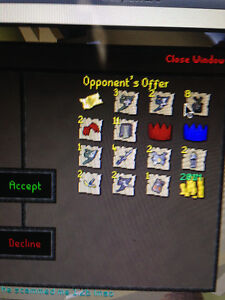 Selling Runescape 2007 Gold 2b+