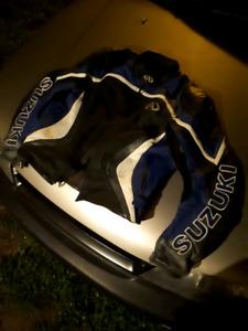 AGV suzuki leather jacket size 48