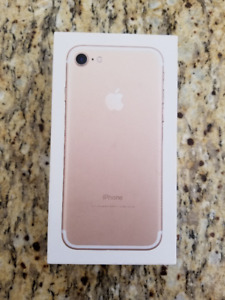 iPhone 7 128GB Gold BOX ONLY