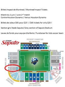 Billets a prix réduits Montreal Impact tickets at reduced price!