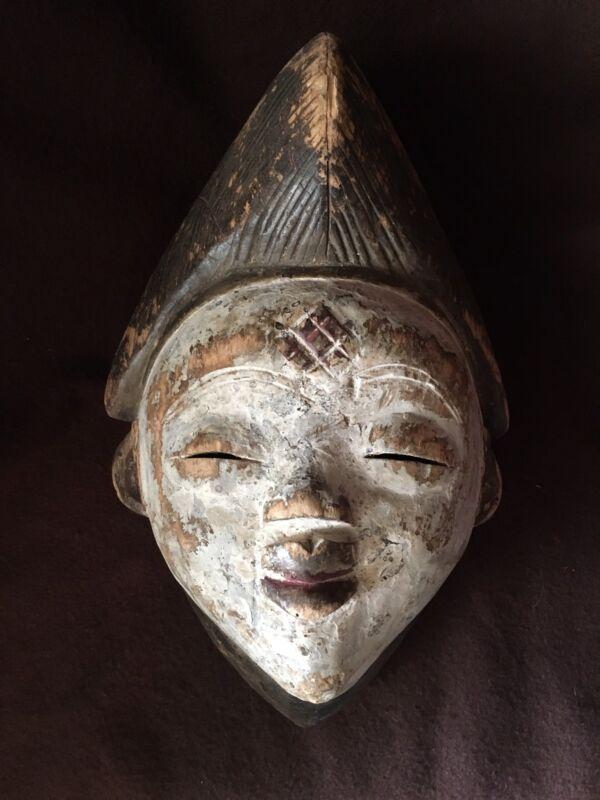 Rare African Punu Hand Carved Wooden Mask! Bonhams Appraised $3-4k!