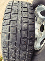 Winter tires / Alloy Rims / Cooper Tires / 255/70R/16 / M&S