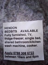 Hendon bedsits