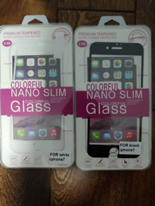 PREMIUM TEMPERED GLASS SCREEN PROTECTOR FOR IPHONE 7 AND 7 PLUS