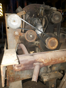Volkswagen motor est 60s or 70s in forklift without mast