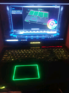 Alienware M17x R4, 3D Vision, i7-8 Thread CPU, 16GB RAM