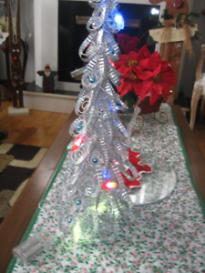 Two Light-up Trees