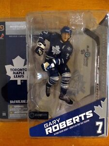 Toronto Maple Leafs Gary Roberts Action Figure Debut