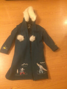 Woman's winter parka. Very rare and beautiful.