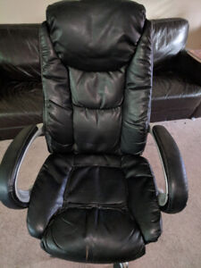 Large Office Chair - Black
