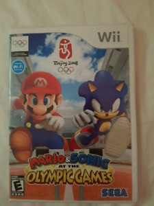 WII MARIO & SONIC AT THE OLYMPIC GAMES COMPLETE