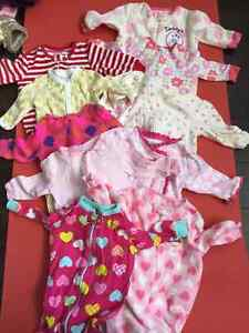 baby girls 3-6 month clothing for sale Bag of 47 Items