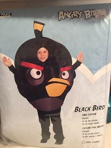 Kids Angry Bird Costume (Black Bird)