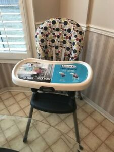 Brand New Graco Simple Switch High Chair (2 in 1)