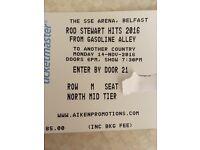 Rod Stewart Belfast