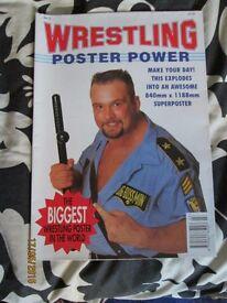 WWE / WWF WRESTLING POWER POSTER MAGAZINE BIG BOSS MAN COVER