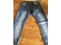 """Superdry Jeans.Boys. 30""""W 30""""L. Suitable 13-15 yrs approx. Excellent condition"""