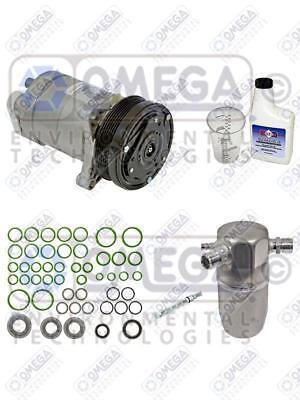 new ac compressor kit 1996-1999 cadillac deville 4.6 1995-1996 seville 4.6