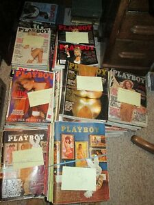VINTAGE PLAYBOY MAGAZINES 69 THROUGH 1998 TOTAL OF 293 MAGAZINES