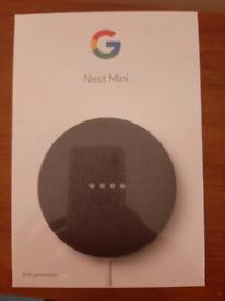 Unopened Google Nest Mini
